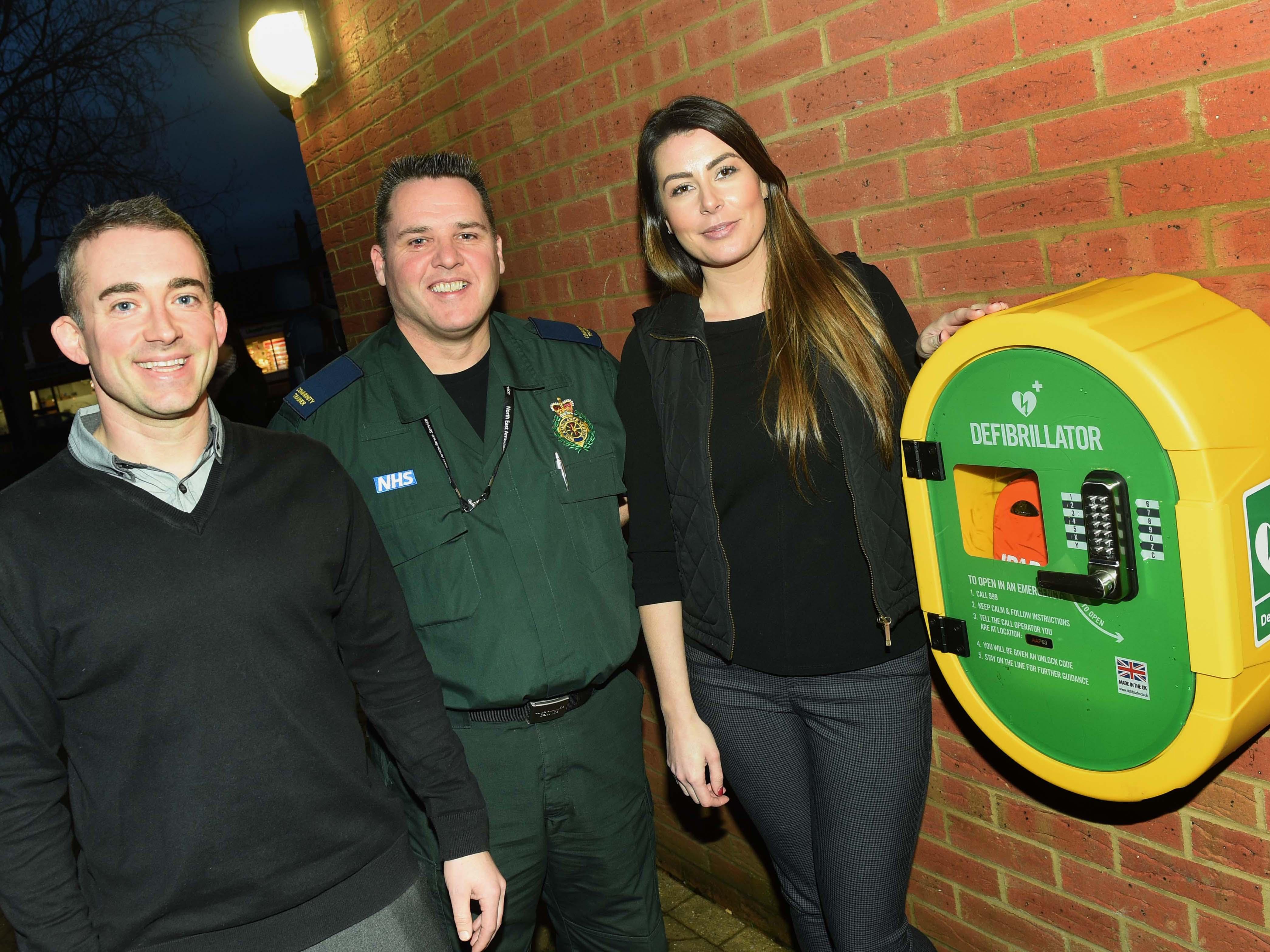 Acklam Green Centre launches public access defibrillator