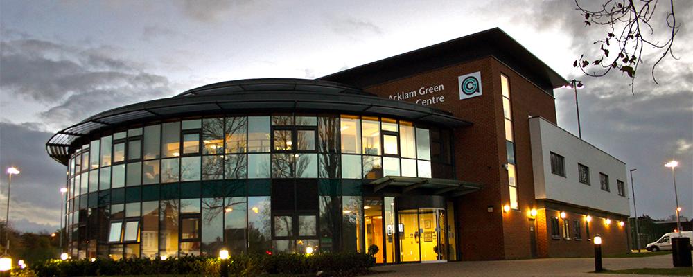 AGC Exterior Evening Banner