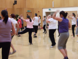 Zumba at the Acklam Green Centre.